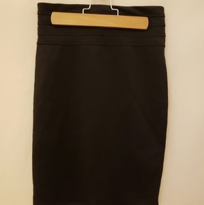 S Charlotte Rousse Pencil Skirt Black